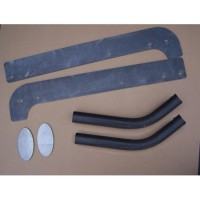 Toyota FJ40 Land Cruiser MetalTech Roll Cage Rear Frame Tie Kit