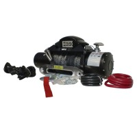 Engo SR12S Self Recovery Winch w/Synthetic Rope, 12000 lb.