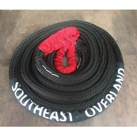 "Southeast Overland 7/8"" (22mm) 24,750 Lbs. Kinetic Recovery Rope"