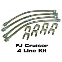 IPOR Stainless Steel Extended Brake Line Kit