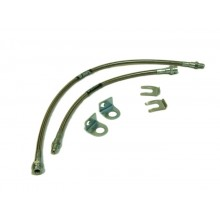 Extended Braided Stainless Steel Brake Lines