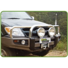 100 Series Toyota Land Cruiser IRONMAN Winch Bar